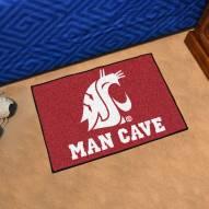 Washington State Cougars Man Cave Starter Mat