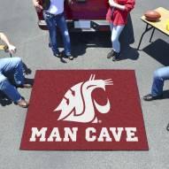 Washington State Cougars Man Cave Tailgate Mat