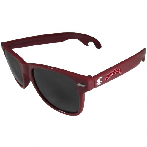 Washington State Cougars Maroon Beachfarer Bottle Opener Sunglasses