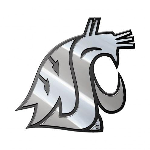 Washington State Cougars Metal Car Emblem