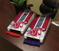 Washington State Cougars Mini Cornhole Set