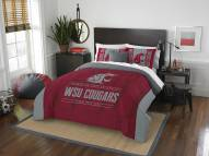 Washington State Cougars Modern Take Full/Queen Comforter Set