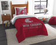 Washington State Cougars Modern Take Twin Comforter Set