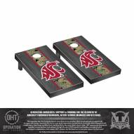 Washington State Cougars Operation Hat Trick Onyx Stained Cornhole Game Set
