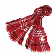 Washington State Cougars Plaid Crinkle Scarf