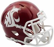 Washington State Cougars Riddell Speed Mini Collectible Crimson Football Helmet