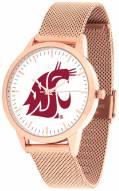 Washington State Cougars Rose Mesh Statement Watch