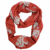 Washington State Cougars Sheer Infinity Scarf
