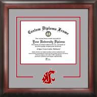 Washington State Cougars Spirit Diploma Frame