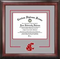 Washington State Cougars Spirit Diploma Frame
