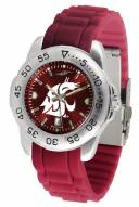 Washington State Cougars Sport Silicone Men's Watch