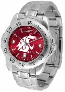 Washington State Cougars Sport Steel AnoChrome Men's Watch