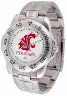Washington State Cougars Sport Steel Men's Watch