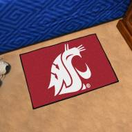 Washington State Cougars Starter Rug