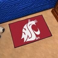 Washington State Cougars Starter Rug