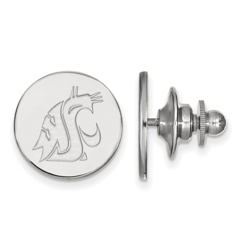 Washington State Cougars Sterling Silver Lapel Pin