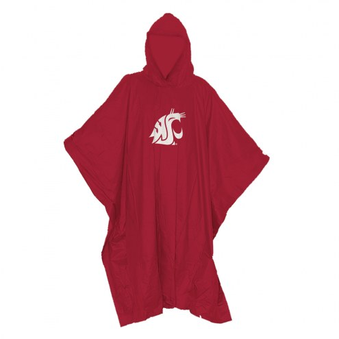 Washington State Cougars Stormfront Lightweight Rain Poncho