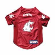 Washington State Cougars Stretch Dog Jersey