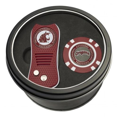 Washington State Cougars Switchfix Golf Divot Tool & Chip