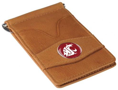 Washington State Cougars Tan Player's Wallet