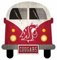 Washington State Cougars Team Bus Sign