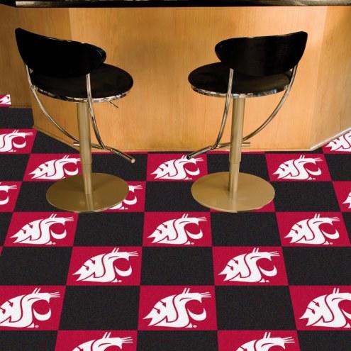 Washington State Cougars Team Carpet Tiles