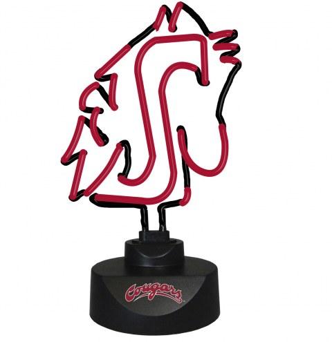 Washington State Cougars Team Logo Neon Lamp