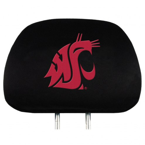 Washington State Cougars Car Headrest Covers