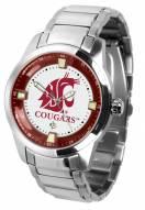 Washington State Cougars Titan Steel Men's Watch