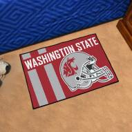 Washington State Cougars Uniform Inspired Starter Rug
