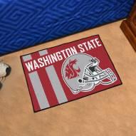Washington State Cougars Uniform Inspired Starter Rug