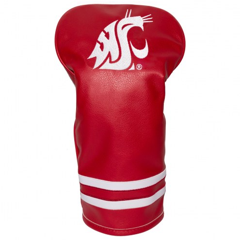 Washington State Cougars Vintage Golf Driver Headcover