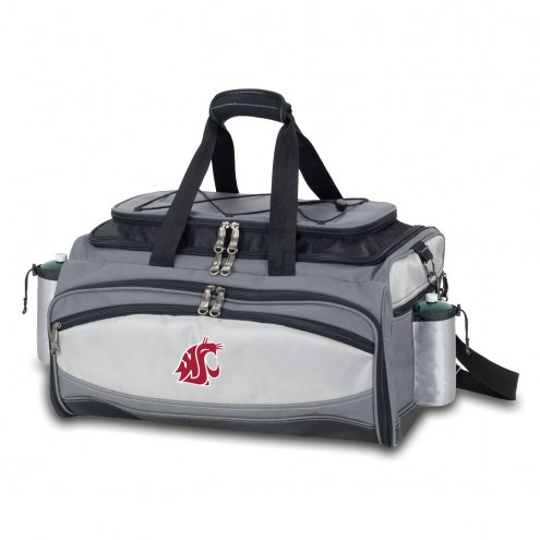 Washington State Cougars Vulcan Cooler & Propane Grill