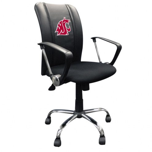 Washington State Cougars XZipit Curve Desk Chair