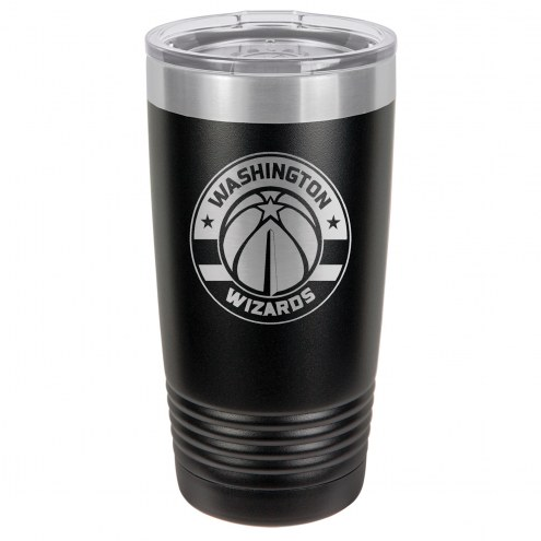 Washington Wizards 20 oz. Black Stainless Steel Polar Tumbler