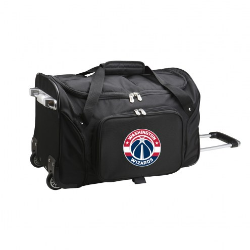 """Washington Wizards 22"""" Rolling Duffle Bag"""
