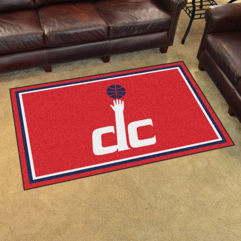 Washington Wizards 4' x 6' Area Rug