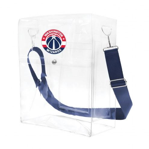 Washington Wizards Clear Ticket Satchel