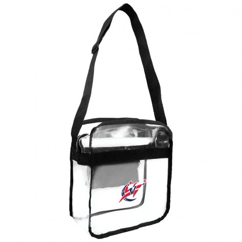 Washington Wizards Clear Crossbody Carry-All Bag