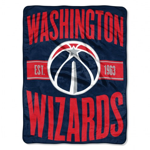 Washington Wizards Clear Out Throw Blanket