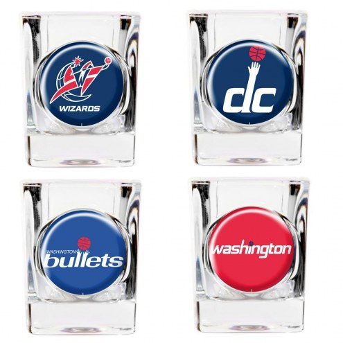 Washington Wizards Collector's Shot Glass Set