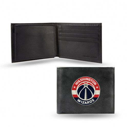 Washington Wizards Embroidered Leather Billfold Wallet