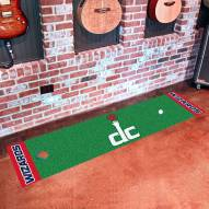 Washington Wizards Golf Putting Green Mat