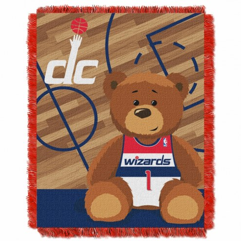 Washington Wizards Half Court Baby Blanket