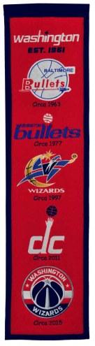 Washington Wizards Heritage Banner