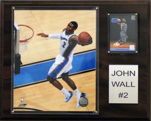 "Washington Wizards John Wall 12"" x 15"" Player Plaque"