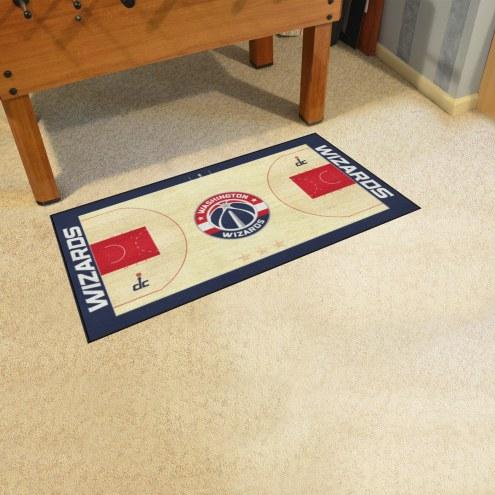 Washington Wizards NBA Court Large Runner