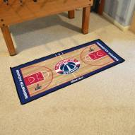 Washington Wizards NBA Court Runner Rug