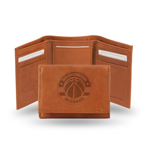 Washington Wizards NBA Embossed Tri-Fold Wallet