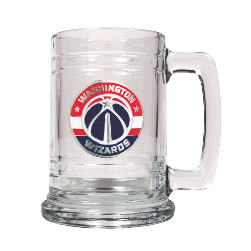 Washington Wizards NBA 2-Piece Glass Tankard Beer Mug Set